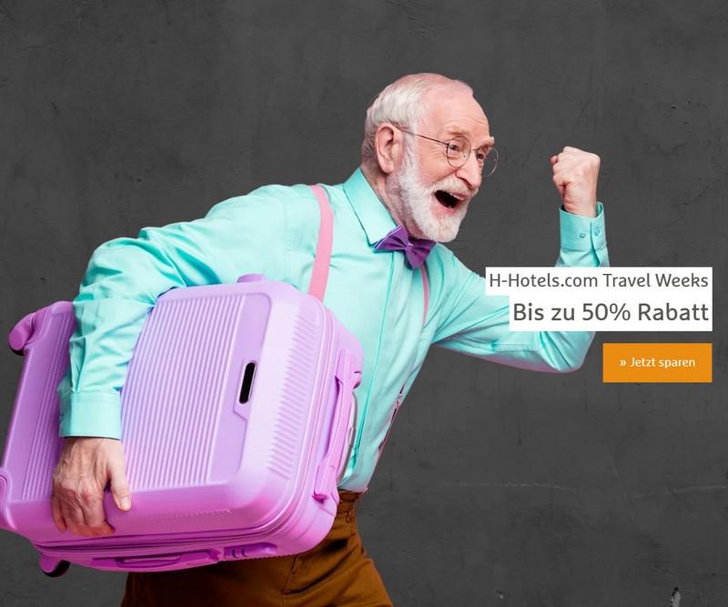 50% Ersparnis bei den H-Hotels für Buchung bis 31.03.2021 und Aufenthalte von Anfang Mai bis Ende Dezember 2021