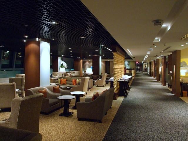 Thai Airways Royal First-Class Lounge Bangkok