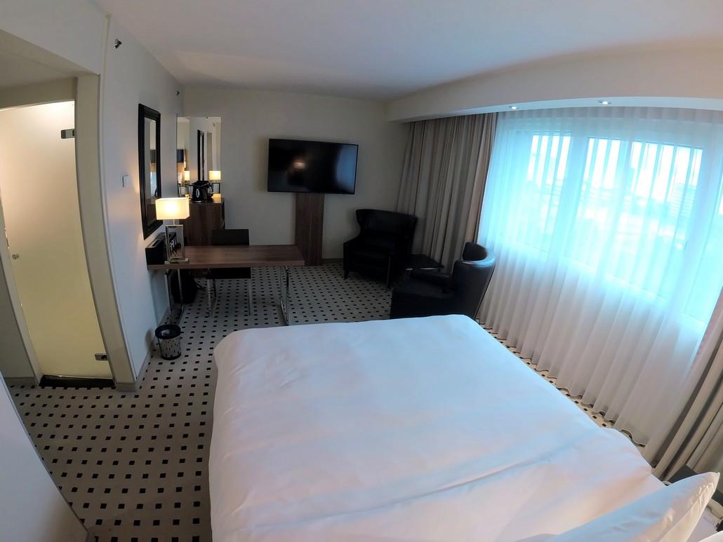 Superior Zimmer im Radisson Blu Scandinavia Düsseldorf