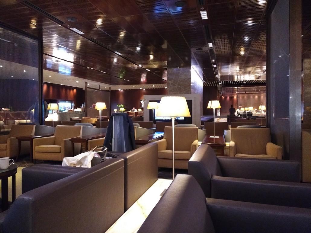 Singapore Airlines KrisFlyer Lounge SIngapore Changi Terminal 3