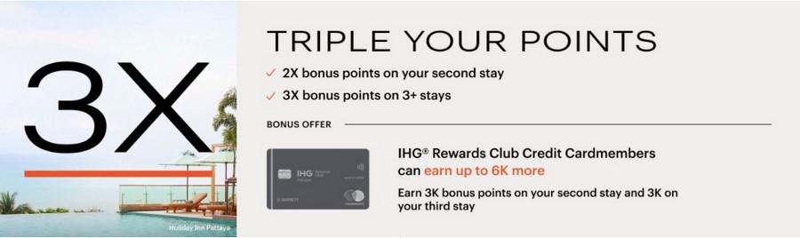 Bis zu dreifache Punkte im IHGV Rewards Club im Zeitraum 15.05.2021 bis 16.08.2021
