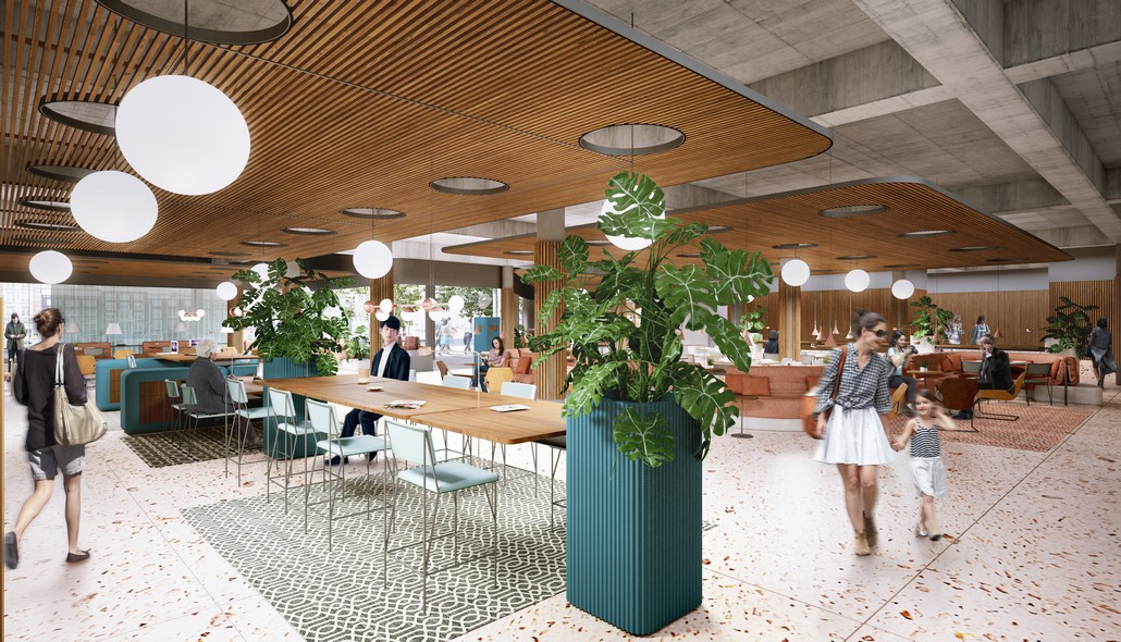 Novotel Social Hub - neues Design von Metro