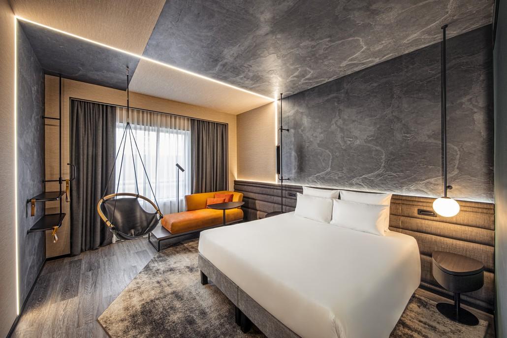 Novotel Doppelzimmer - neues Design von Sundukovy Sisters