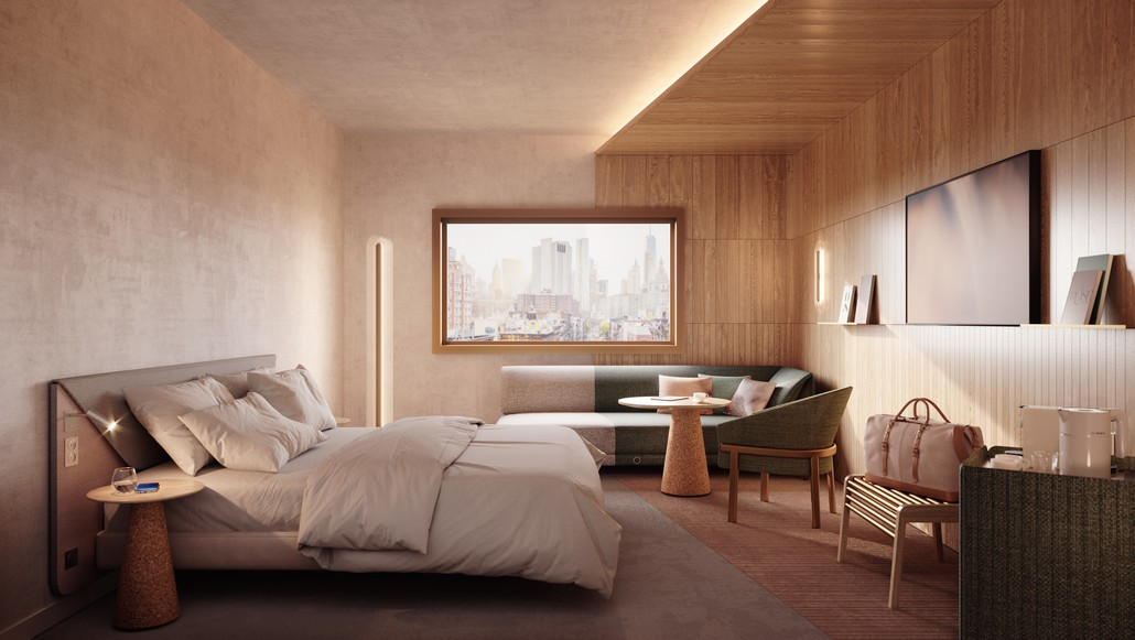 Novotel Doppelzimmer - neues Design von RF Studios
