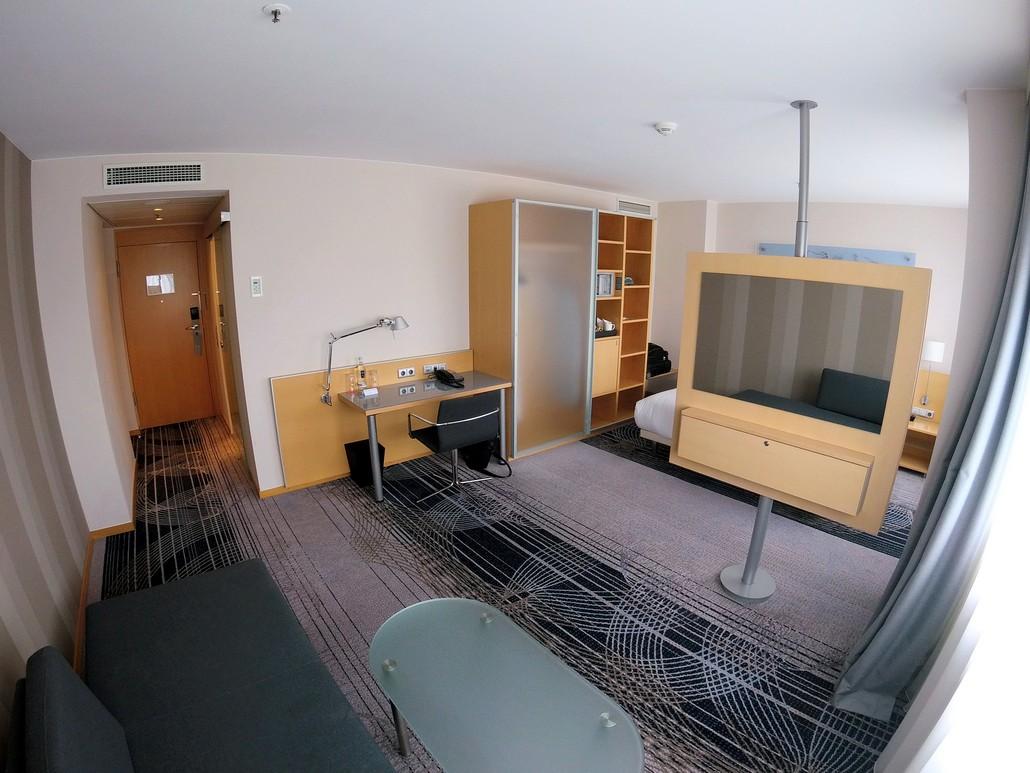 Deluxe Zimmer im Le Meridien Frankfurt