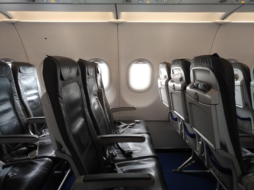 Die Lufthansa Economy-Class auf der Kurzstrecke im Airbus A320
