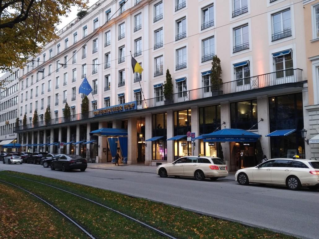 Hotel Bayerischer Hof München - auch Mitglied der Preferred Hotels