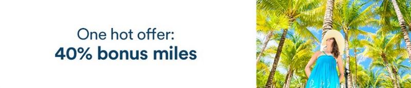 40% Bonus beim Kauf von Alaska Airlines Meilen bis 25.06.2021