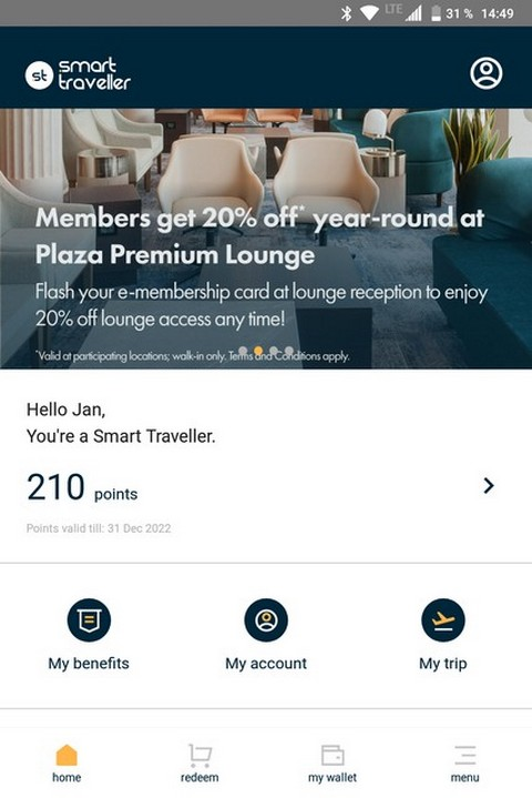 Smart Traveller App