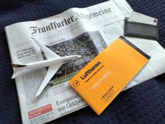 Frankfurter Allgemeine Zeitung und Lufthansa Miles and More