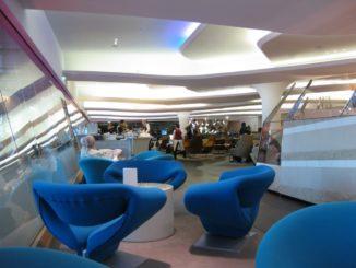 Virgin Atlantic Clubhouse in London Heathrow