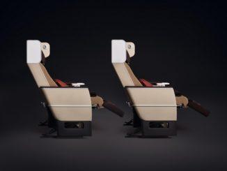 Swiss Premium Economy Sitze in der 777
