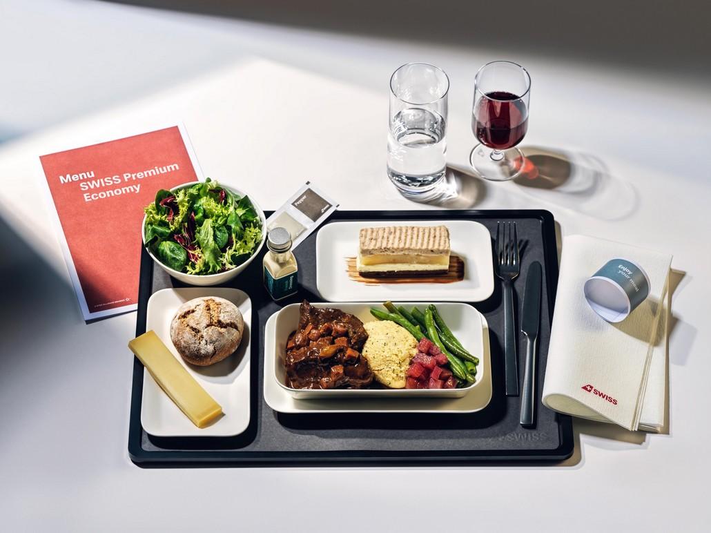 Catering in der Swiss Premium Economy - Flüge ab sofort buchbar