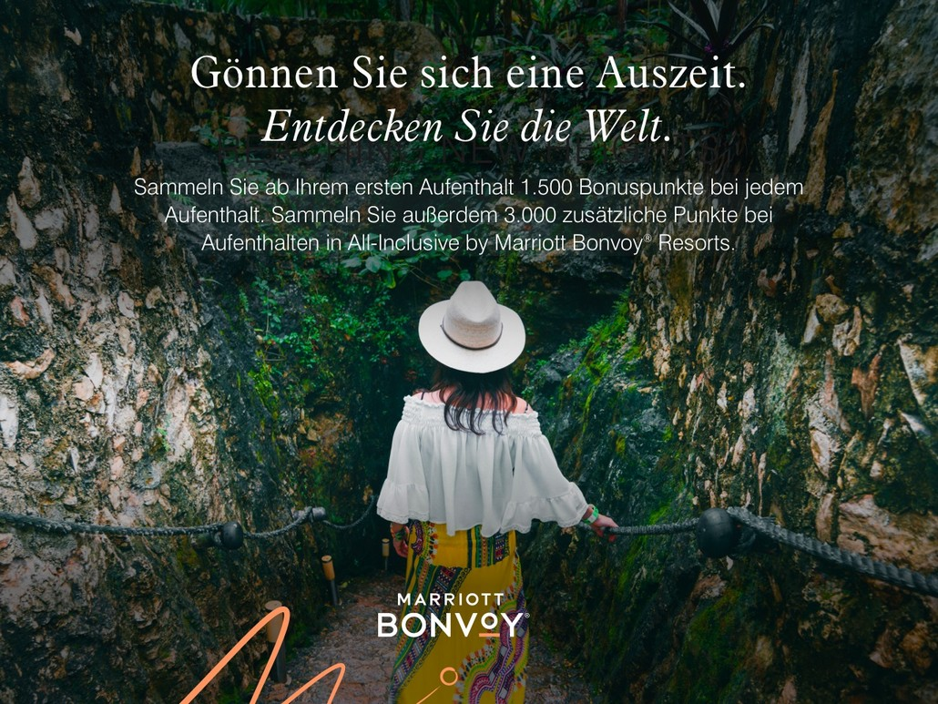Marriott Bonvoy Herbst Promotion 2021