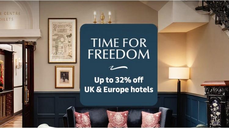 Millenium Hotels Time for Freedom Angebot für Aufenthalte bis Ende März 2022