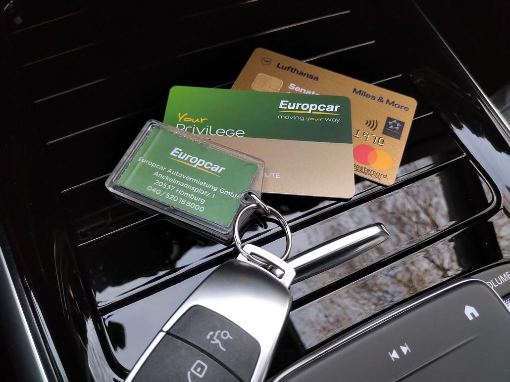 Europcar Privileges und Miles and Moire