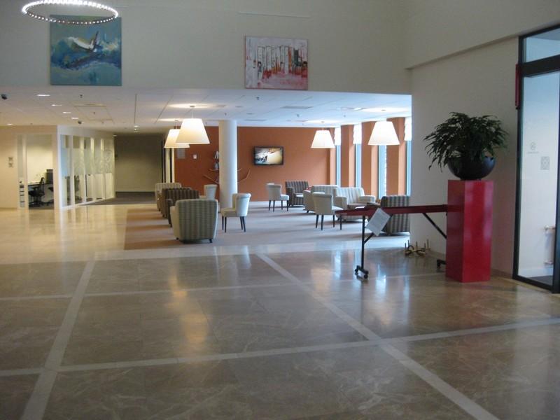 Lobby im Hilton Garden Inn Leiden
